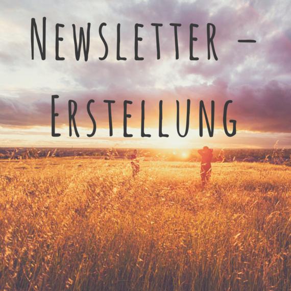 Newsletter – Erstellung